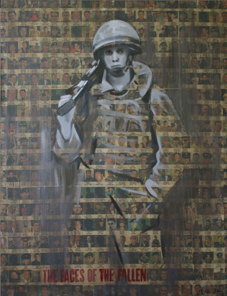 War Artist Arabella Dorman Sure Likes The Work Of War